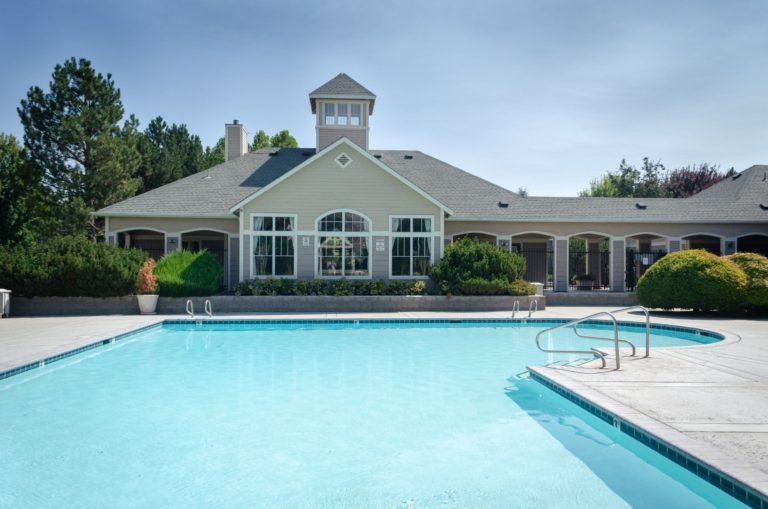 Take a dip in our heated seasonal pool