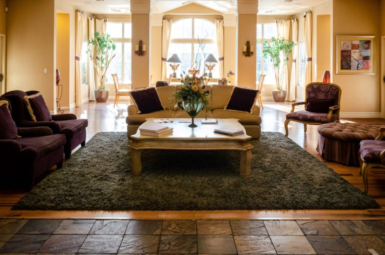 Step into our lovely lobby to begin your Enclave experience