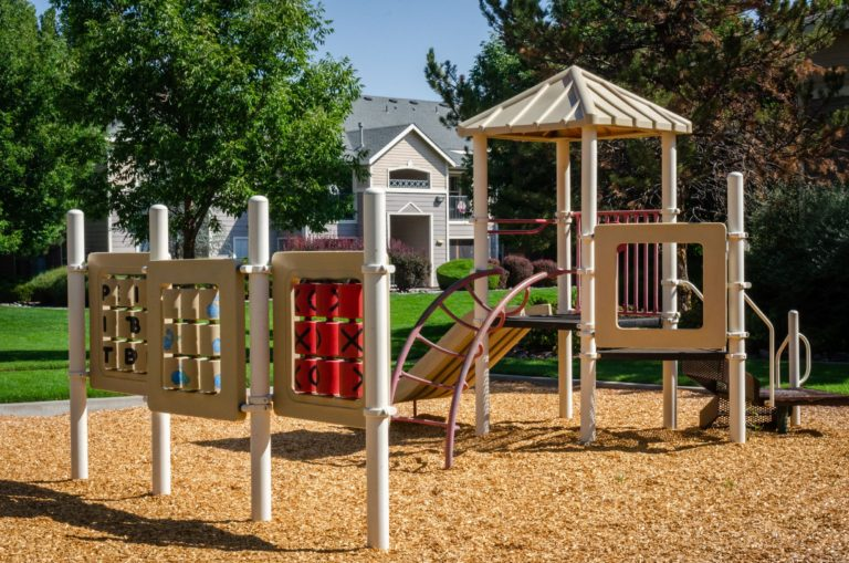 Our toddler playground is perfect for little ones