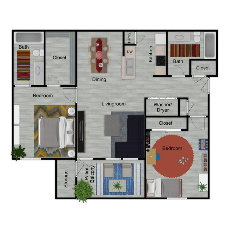 Enclave B3 Furnished