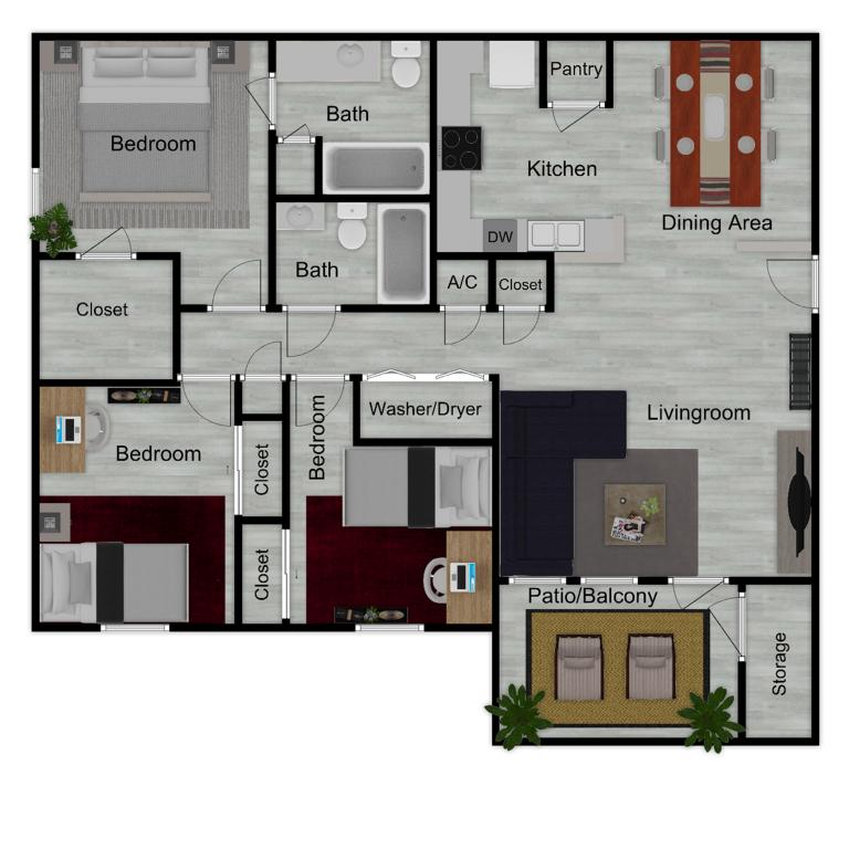 Enclave C1 Furnished